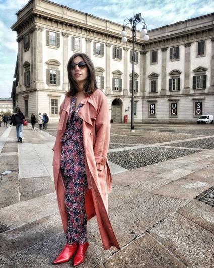 Iolanda Corio di www.theshadeoffashion.com indossa un total look by Suncoo