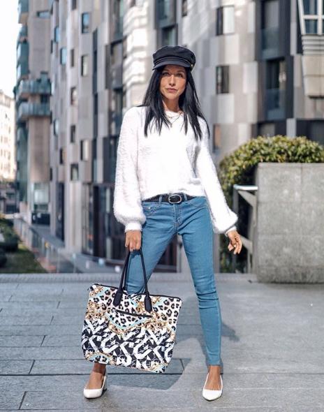 Travelliamo con borsa modello barocco Save My Bag
