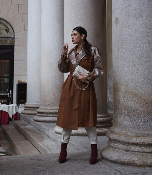 Rita Capparelli indossa stivaletti Nr Rapisardi